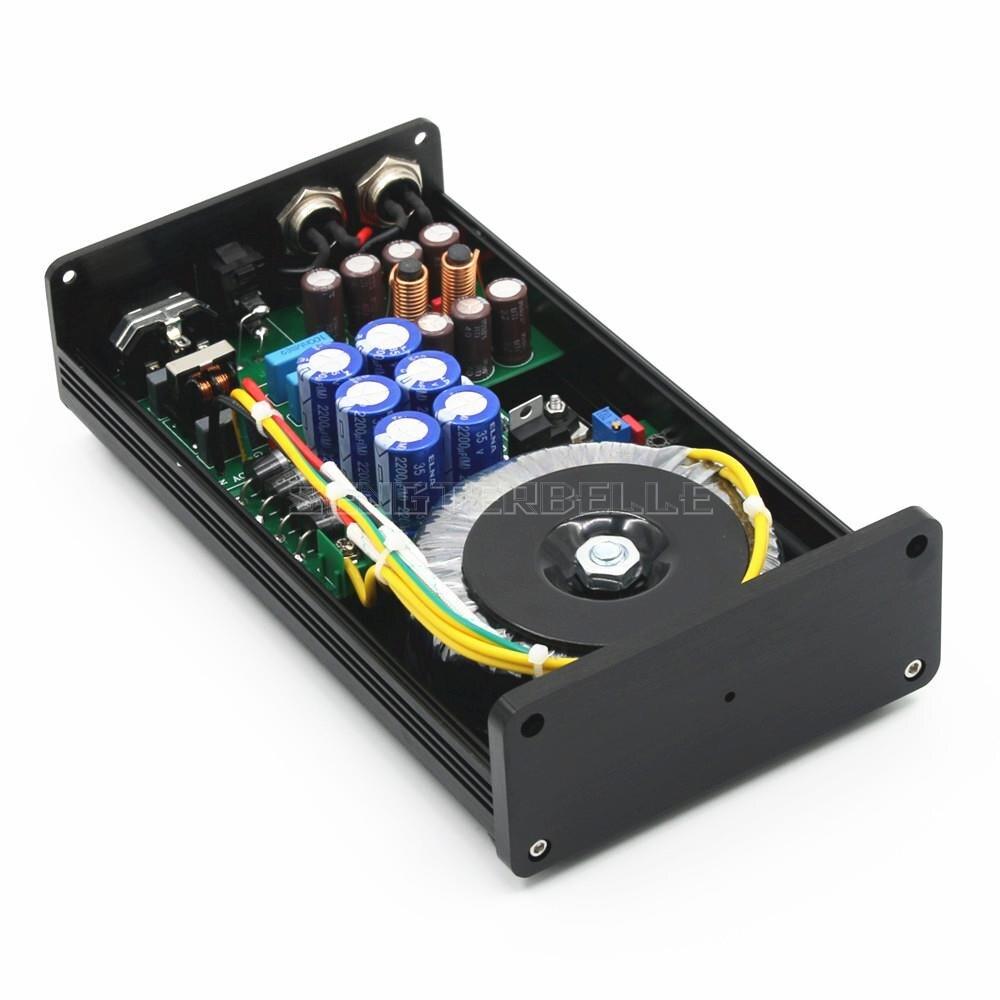 Hot Deals New 2020 50VA HIFI Ultra-Low Noise Linear Power Supply DC5V 9V 12V 15V 18V 24V LPS PSU